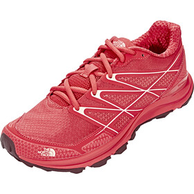 The North Face Litewave Endurance Running Trail Shoes Damer, cayenne red/tropical peach